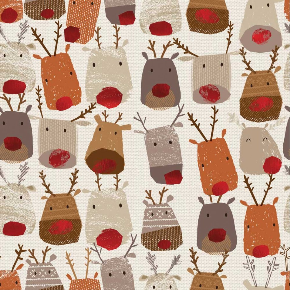 Personalise your wrapping paper for Christmas