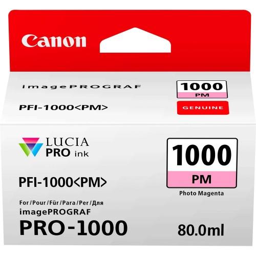Canon PFI-1000PM Photo Magenta Ink Tank 80ml - Canon PRO-1000 Photo Printer 0551C001