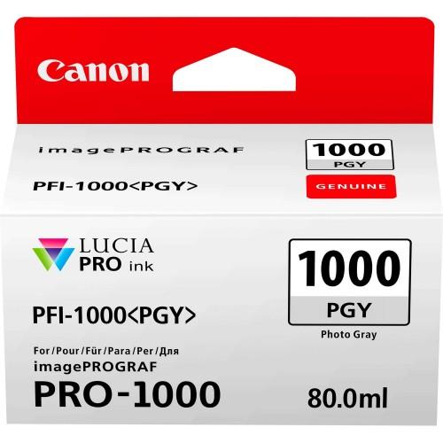 Canon PFI-1000PGY Photo Grey Ink Tank 80ml - Canon PRO-1000 Photo Printer 0553C001