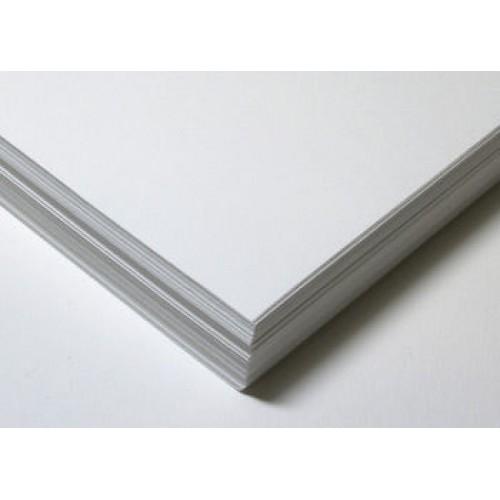 A3 Silk White Backing Card 250 micron Box of 100
