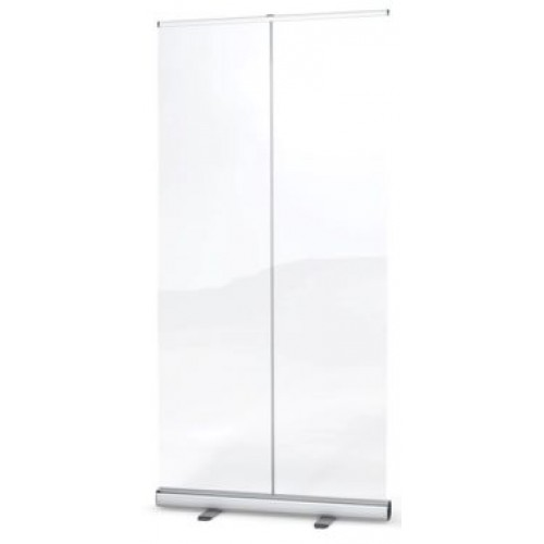 Roll Up Banner Stand 800mm x 2000mm for Printed Graphics or Clear PPE Film