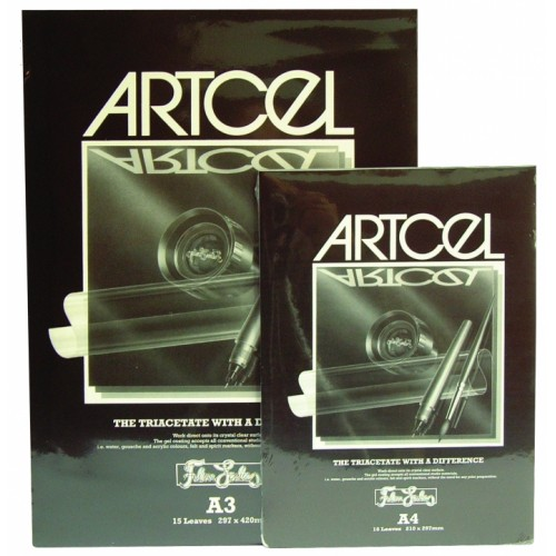 Artcel Triacetate Crystal Clear Film 135mu A4 15 Sheets