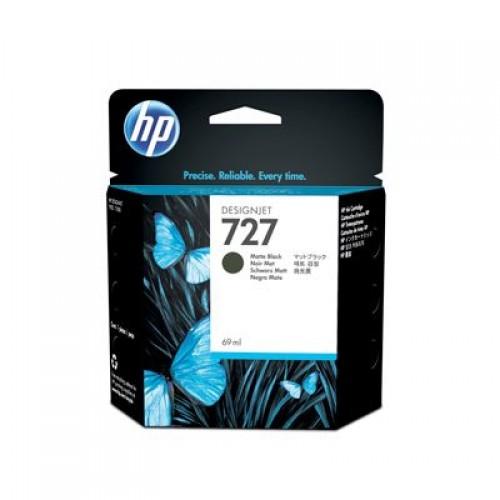 HP C1Q11A No.727 Ink Cartridge Matte Black - 69ml