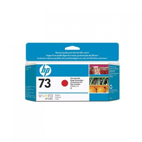 HP CD951A No. 73 Ink Cartridge Chromatic Red - 130ml for HP Designjet Z3200