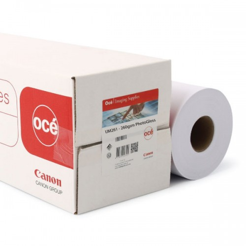"Instant Dry Photo Gloss Inkjet Paper 260gsm A1 24"" 610mm x 30m Roll"