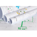 HP DesignJet T530 Printer Paper Roll CAD Uncoated Inkjet Plotter Paper 90gsm A1 594mm x 45m