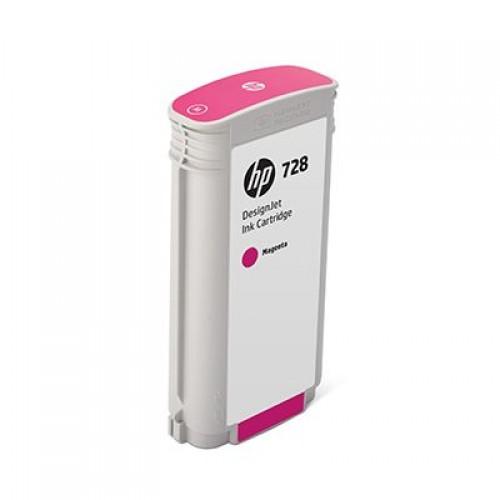 HP 728 Magenta 130ml Ink Cartridge for HP Designjet T730 Printer & T830 eMFP F9J66A