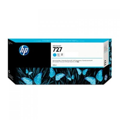 HP F9J79A No.727 Ink Cartridge Photo Black - 300ml