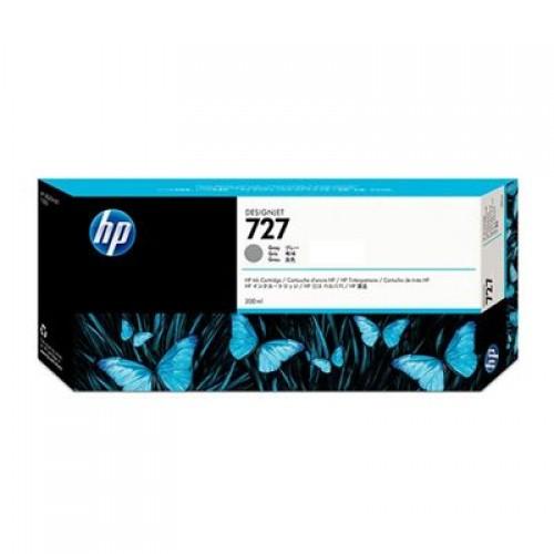 HP F9J80A No.727 Ink Cartridge Grey - 300ml