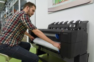 Maximise workgroup productivity and enterprise security with the HP DesignJet T1530