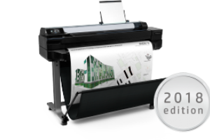 Looking for a versatile and networked wide format printer? Consider the HP DesignJet T520