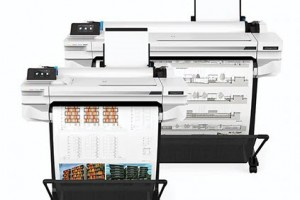 The new HP DesignJet T530: a fitting successor to the T520 for architects, interior designers, engineers and construction professionals