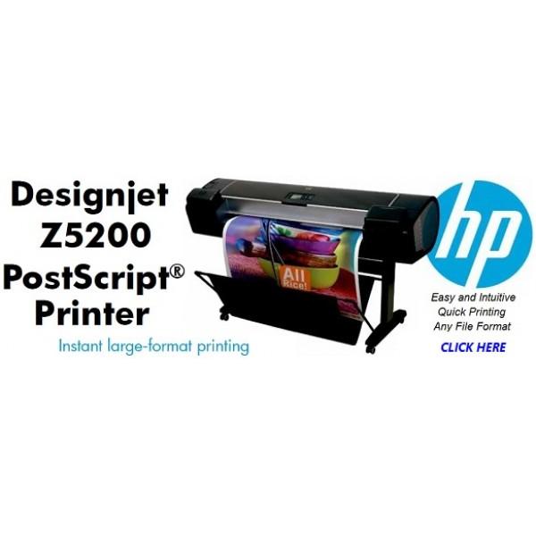hp designjet z5200 ps 44 printer cq113a prizma graphics. Black Bedroom Furniture Sets. Home Design Ideas