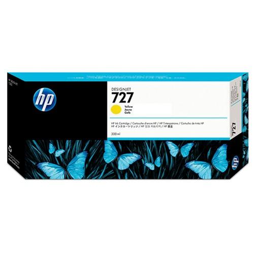 HP F9J78A No.727 Ink Cartridge Yellow - 300ml