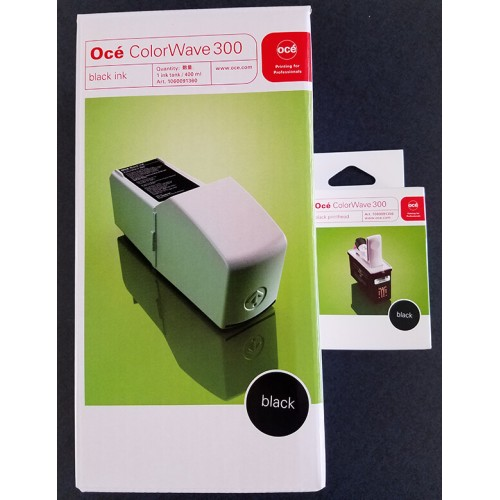 Oce Colourwave 300 Combi Pack Inktank/Printhead Black 29953904