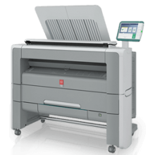 Oce PlotWave 345 - B & W Printer - Colour Scanner- MFP Wide Format System