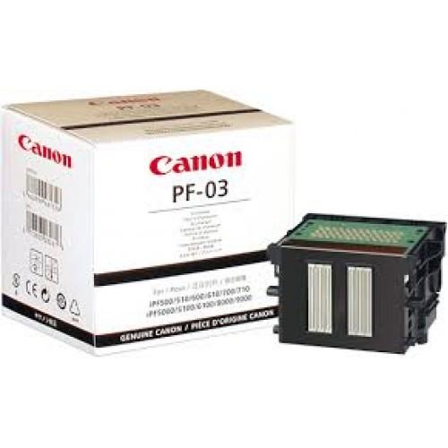 Canon Printhead PF-03 2251B001AA - for Canon iPF500, iPF510, iPF5100, iPF600, iPF605, iPF610, iPF6100, iPF6200, iPF6300S, iPF700, iPF710, iPF720, iPF8000, iPF8000S, iPF810, iPF8100, iPF815, iPF820,  iPF9000, iPF9000S, iPF9100, LP17, LP24 Printers