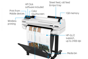"Plotter paper to fit the new HP T530 A1 24"" inkjet printer"