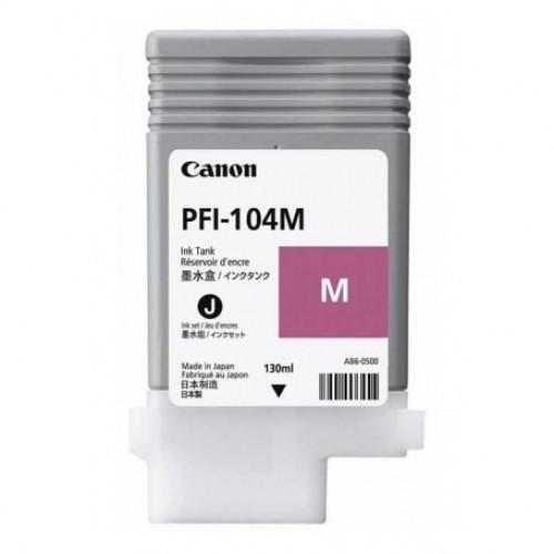 Magenta Dye Ink Cartridge PFI-104M