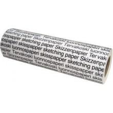 Tervakoski Detail Paper 25gsm Roll A4/A3 297mm x 100m
