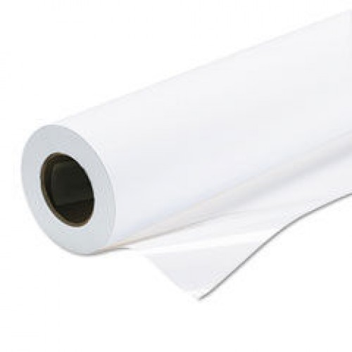 "Self Adhesive Matt Polyprop Paper 80mu 17"" 432mm x 30m Roll"