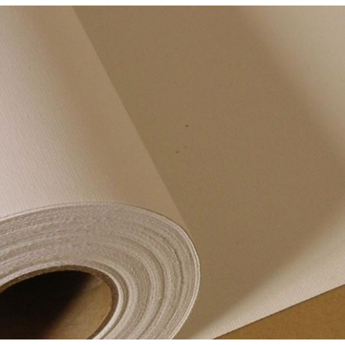 "Matt Textured Polyester Cotton Inkjet Canvas 410gsm Roll 42"" 1067mm x 18m"