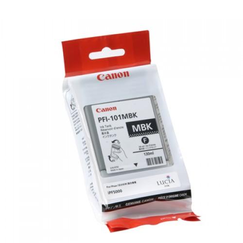 Canon Matte Black Dye Ink Cartridge PFI-101MBK