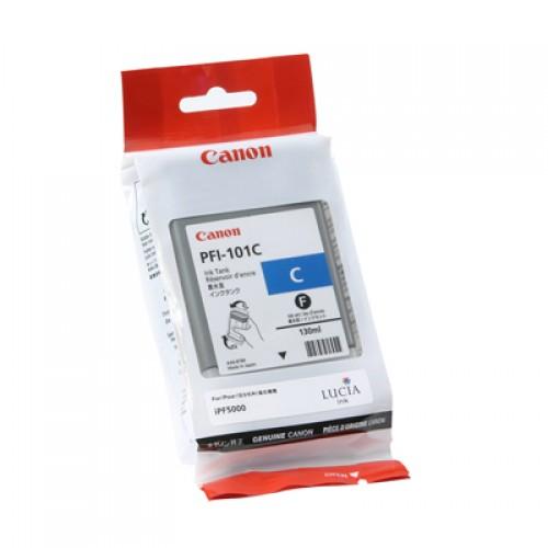 Canon Cyan Dye Ink Cartridge PFI-101C