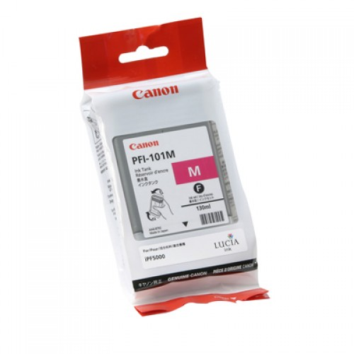 Canon Magenta Dye Ink Cartridge PFI-101M