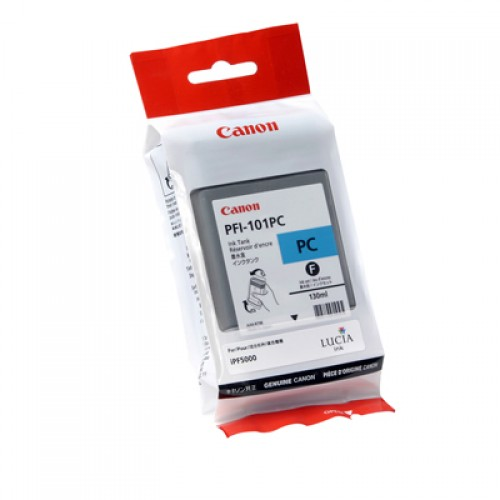 Canon Photo Cyan Ink Cartridge 130ml PFI-101PC