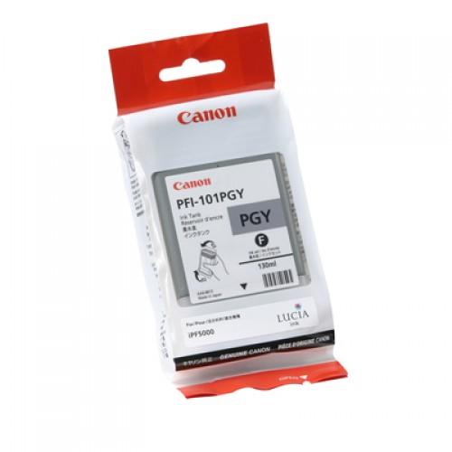Canon Photo Grey Dye Ink Cartridge 130ml PFI-101PGY