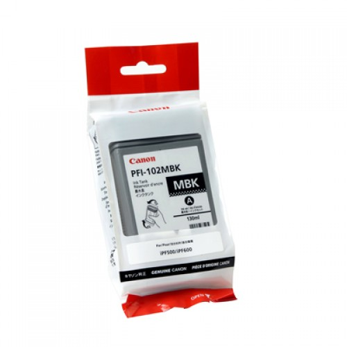 Canon Matte Black Pigment Ink Cartridge PFI-102MBK