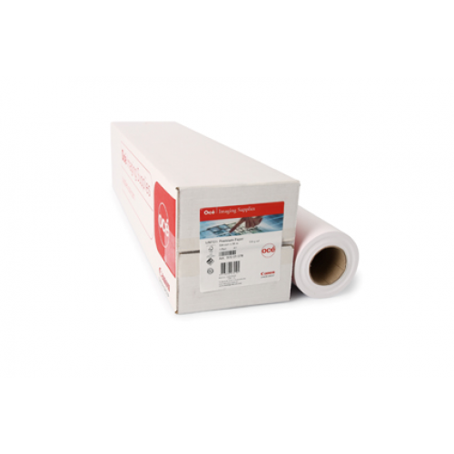 "IJM043 Oce Recycled FSC Inkjet Plotter Paper 80gsm A1 24"" 610mm x 50m 3 Roll Pack"