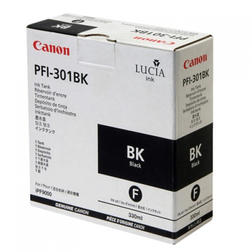 Canon Black Ink Cartridge 330ml  PFI-301BK
