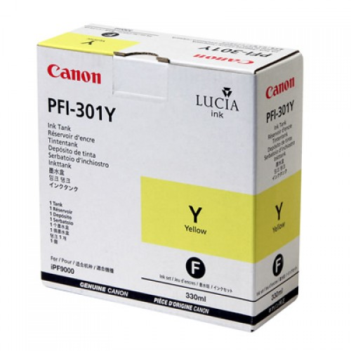 Canon Yellow Ink Cartridge PFI-301Y