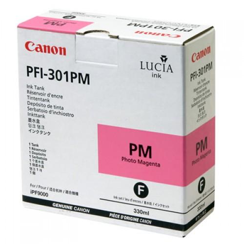 Canon Photo Magenta Ink Cartridge 330ml PFI-301PM