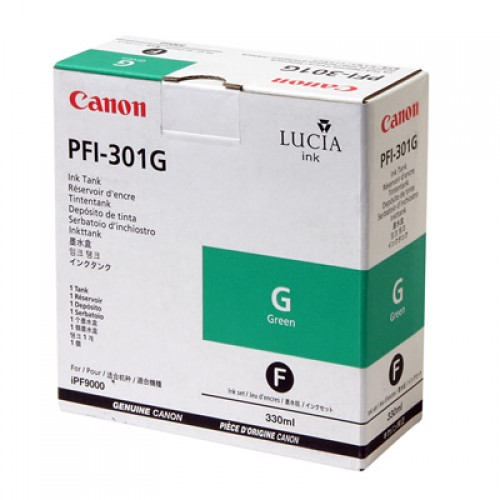 Canon Green Ink Cartridge 330ml PFI-301G