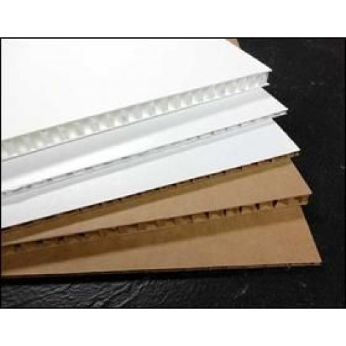 A4 Eaglecell White Display Board 13mm Pack of 40