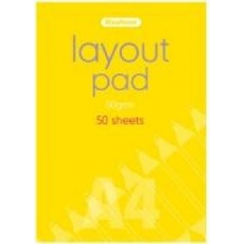 Layout Pad 60gsm A2 100 Sheets
