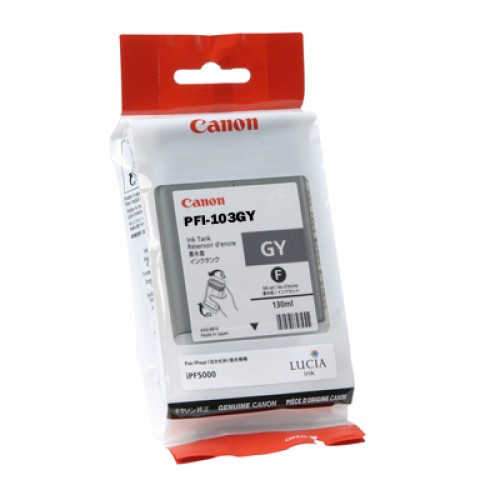 Canon Grey Ink Cartridge 130ml PFI-103GY