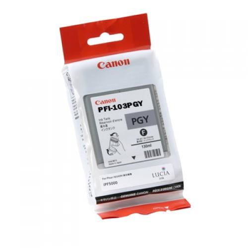 Canon Photo Grey Ink Cartridge 130ml PFI-103PGY