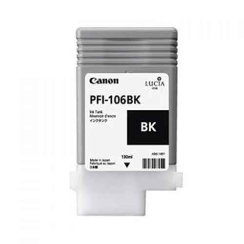 Canon PFI-106BK Black Ink Tank 130ml