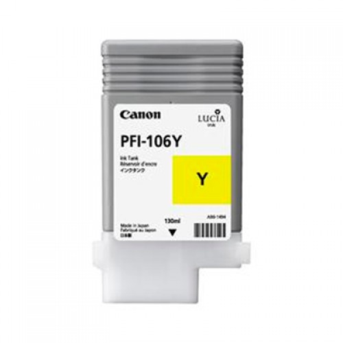 Canon PFI-106Y Yellow Ink Tank 130ml