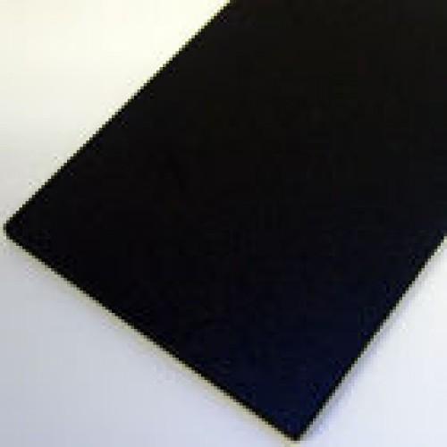 """Foamex/Rigid PVC 30"""" x 40"""" Black Board 3mm"""