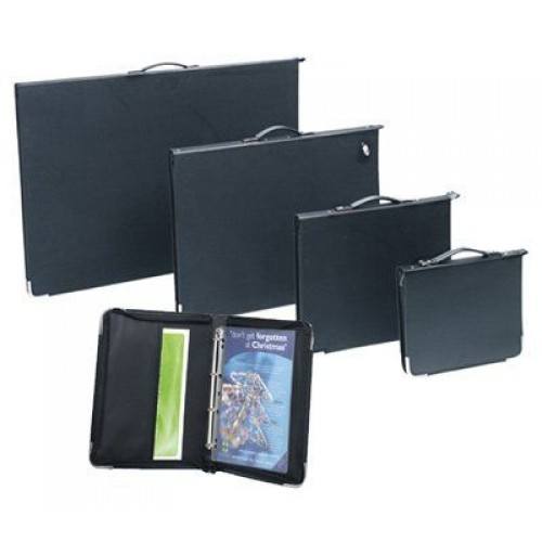 A2 Presentation Portfolio Case Black