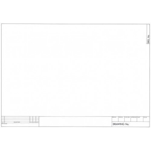 Printed Drawing Sheets A1
