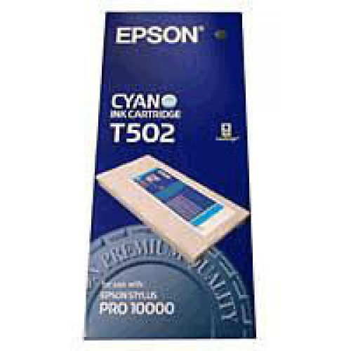 C13T502011 Epson Cyan QuickDry Dye Ink 500ml