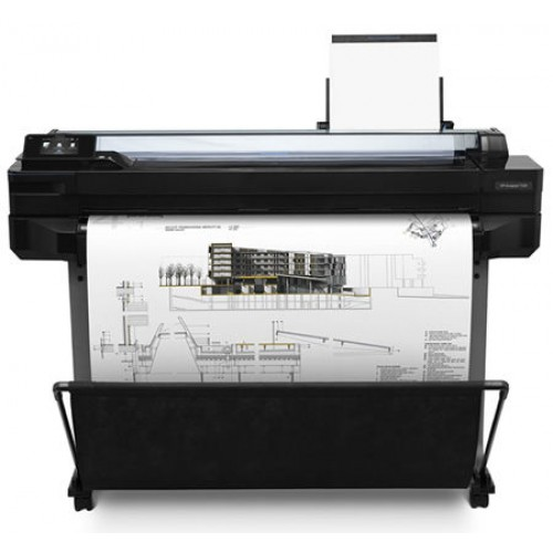 "HP DesignJet T520 A0 36"" Printer 4 Colour CAD Plotter CQ893A"