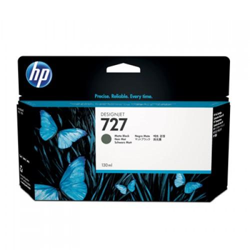 HP B3P22A No.727 Ink Cartridge Matte Black - 130ml