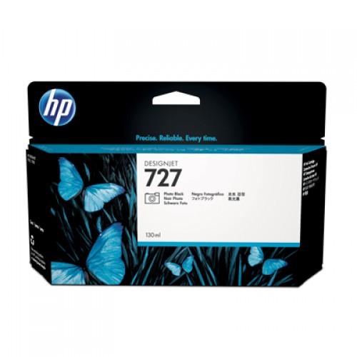 HP B3P23A No.727 Ink Cartridge Photo Black - 130ml